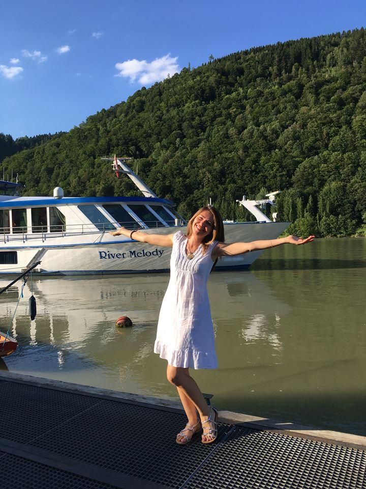 Везен Уфер на река Дунав