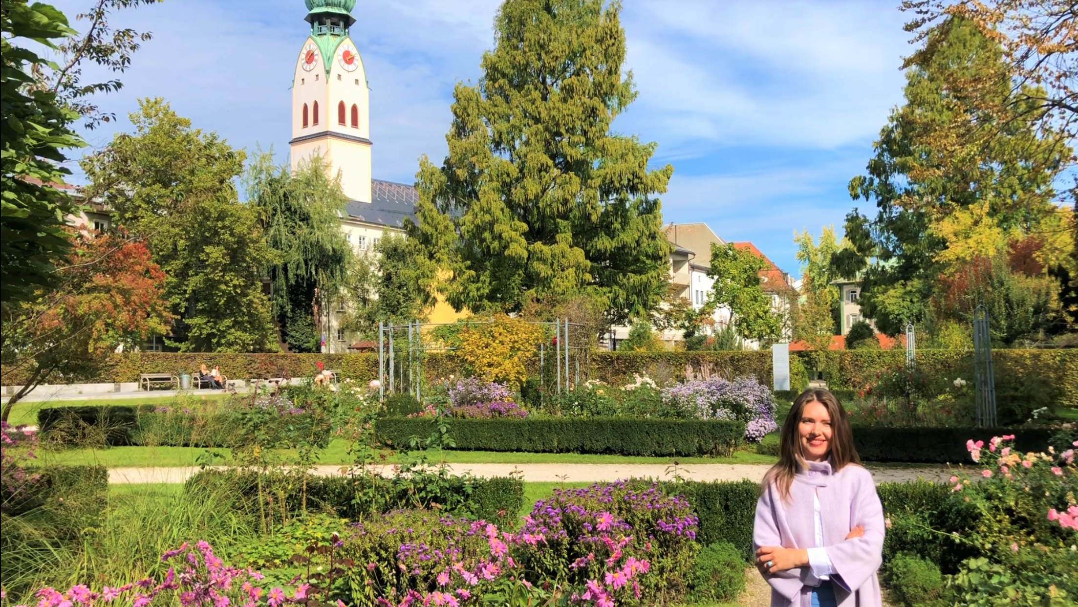 Градината Алтеапотеке в Розенхайм