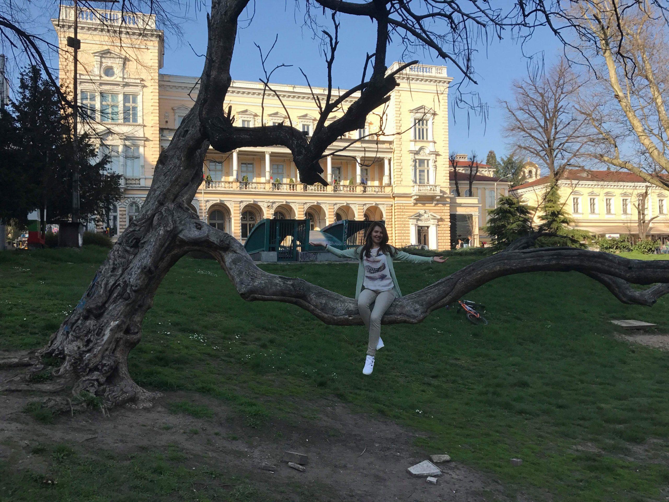 Градинката Кристал в София