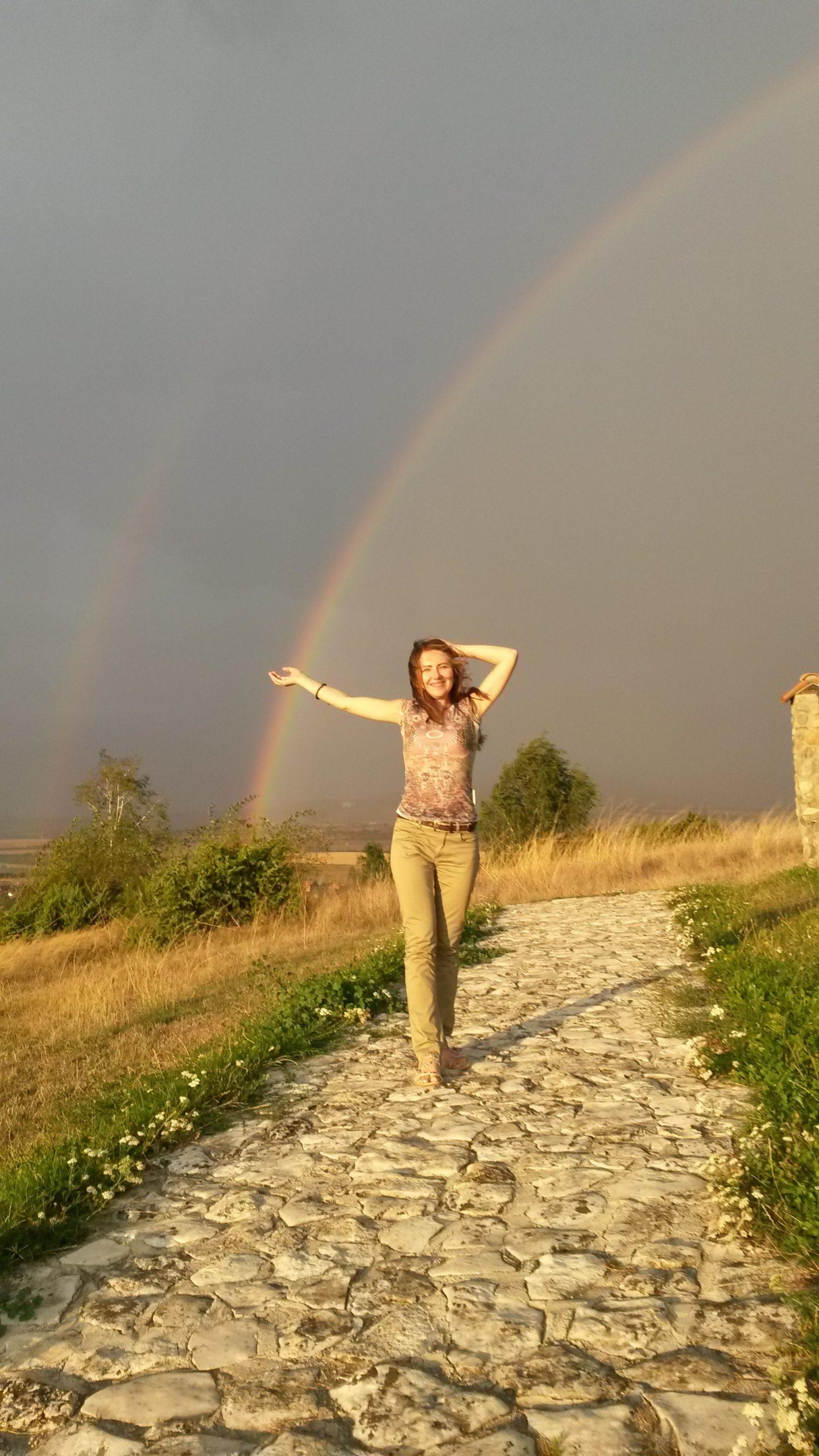 Дъга над Света Петка