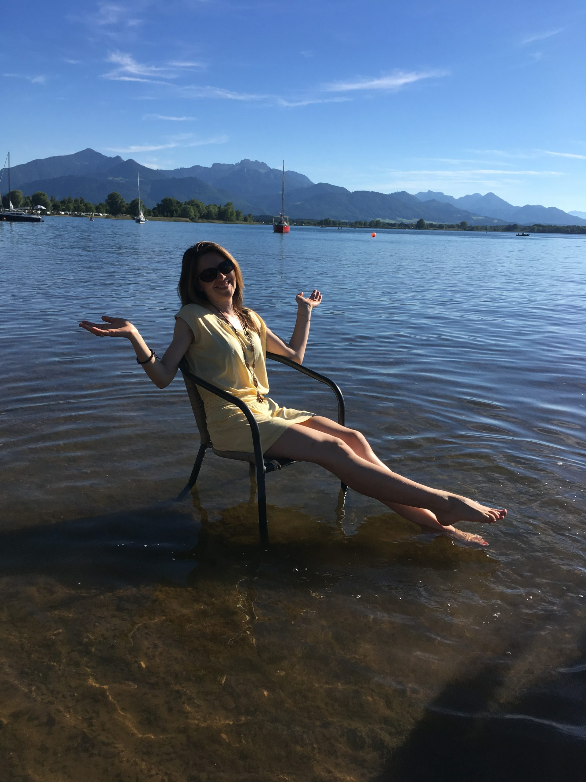 Алпите и езерото Кимзее