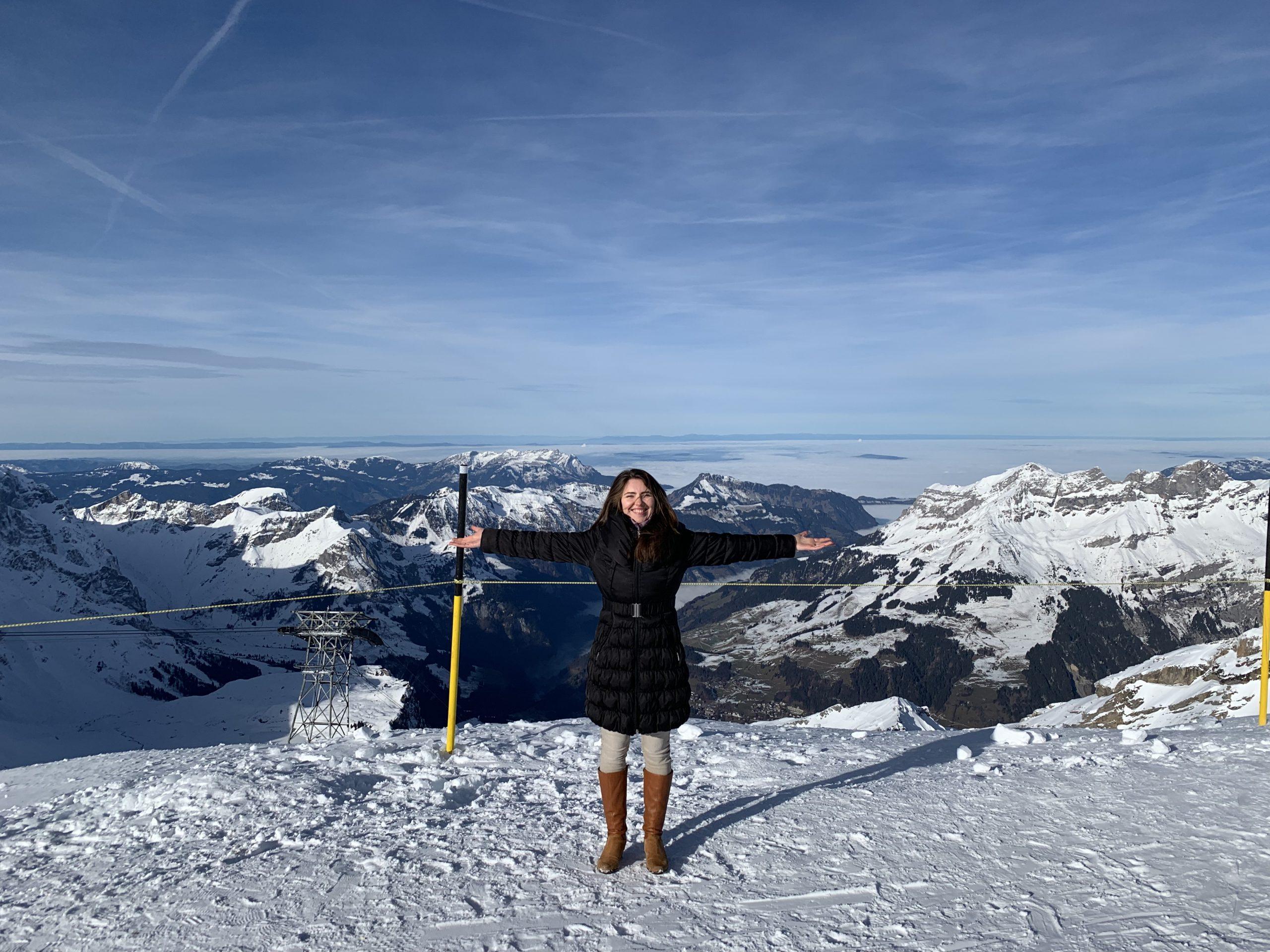 Планината на Ангелите в Швейцария
