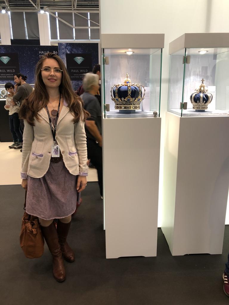 Световно изложение на кристали в Мюнхен 2019 г.
