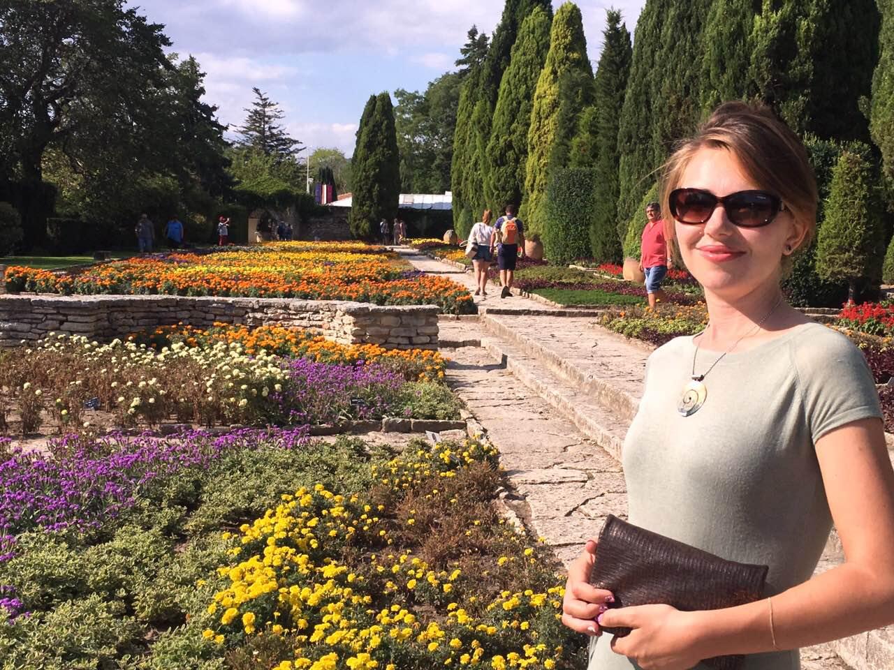 Градините в комплекс Двореца – Балчик